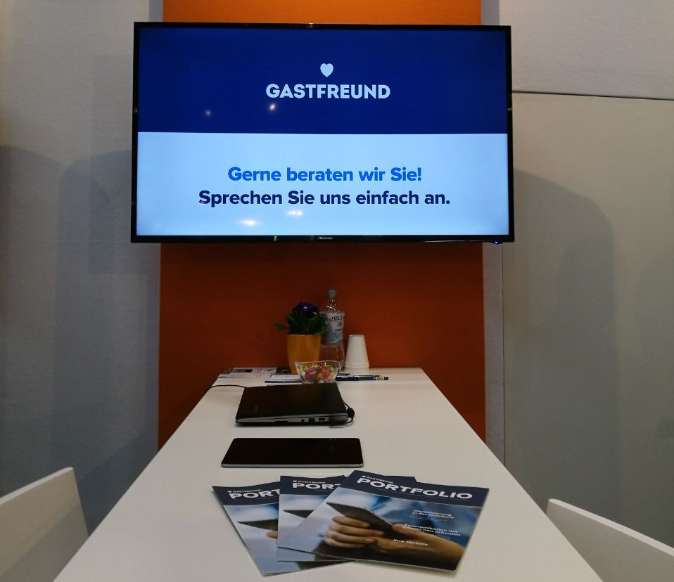 Gastfreund auf der Internorga in Hamburg_Messestand